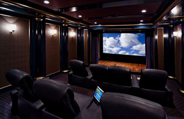 custom home theater - Home Theater Room Design